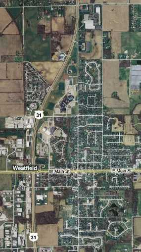 Because Of Its Growth Us 31 Byp Only Downtown Westfield The City Swallowed The Byp Some Time Ago This Map Shows The Northern Two Thirds Of The